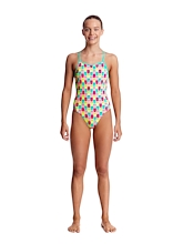 Funkita Girls Diamond Back One Piece Minty Mittens