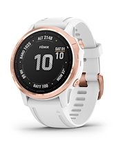 Garmin Fenix 6S Pro Rose Gold White