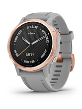 Garmin Fenix 6S Sapphire Rose Gold Powder Grey
