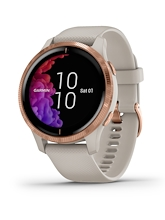 Garmin Venu Light Sand Rose Gold Hardware
