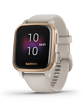 Garmin Venu Sq Music Edition Rose Gold Aluminium Bezel