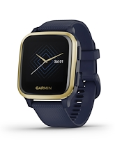 Garmin Venu Sq Music Edition Light Gold Aluminium Bezel