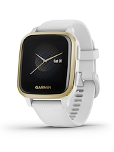 Garmin Venu Sq Light Gold Aluminium Bezel