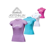 Adrenalin Ladies Cap Sleeve Rash Vest