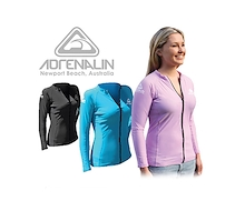 Adrenalin Ladies Front Zip Long Sleeve
