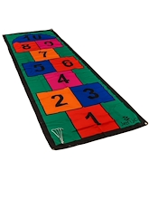 Jenjo Colourful Hopscotch Mat With Pegs