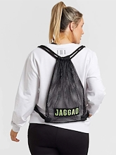 Jaggad Mesh Drawstring Backpack