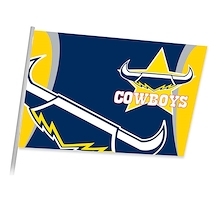 North Queensland Cowboys Game Day Flag