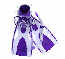 OZTrail Adult 3 Piece Snorkelling Set L/XL