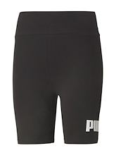 Puma Essentials Logo Short Leggings Womens