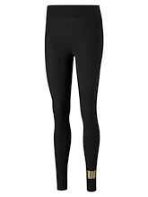 Puma Essentials + Metallic Leggings Womens