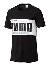 Puma Graphic Logo Block Tee Mens