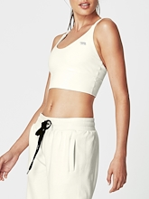Running Bare Lotus Long Line Sports Bra