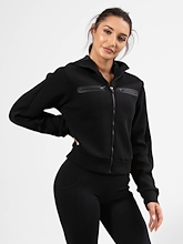 Running Bare Playing The Field Bomber Crop Jacket
