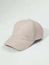 Running Bare Cleo Bear Suede Cap