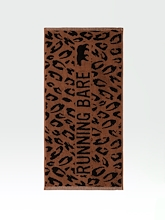 Running Bare Its a Jungle Out There Gym Towel