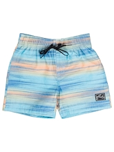 Rusty Glitched Elastic Boardshort Runts
