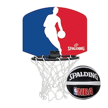 Spalding NBA Mini Logoman Basketball Set