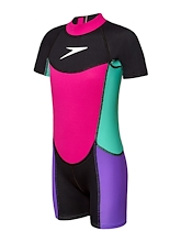 Speedo Neoprene Suit Toddler Girl