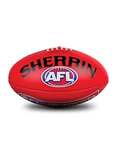 Sherrin Official Game Ball of the AFL Size 5