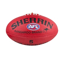 Sherrin Synthetic Ball Size 5 Red