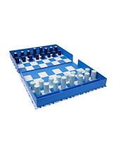 Sunnylife Board Game Chess & Checkers