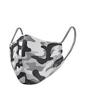 The Mask Life Camo Reversible Face Mask Kids