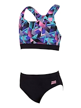 Zoggs Girls Kitch Chaos Muscle 2 Piece